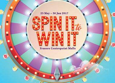 Spin It To Win It At </br>Frasers Centrepoint Malls