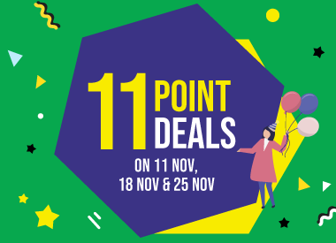Frasers Experience X GrabPay - 11 Point Deals