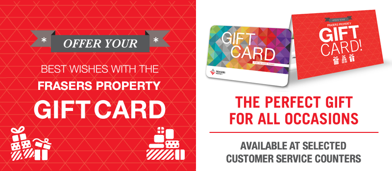 Frasers Centrepoint Malls Gift Card