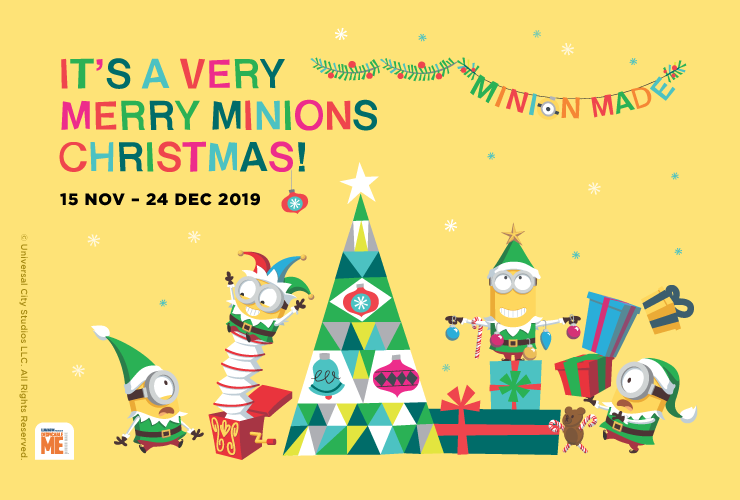 It's A Very Merry Minions Christmas!
