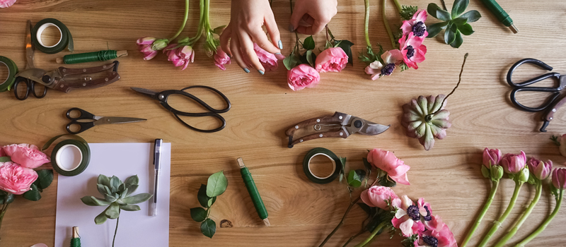 Create DIY Floral Arrangements that #SparkJoy
